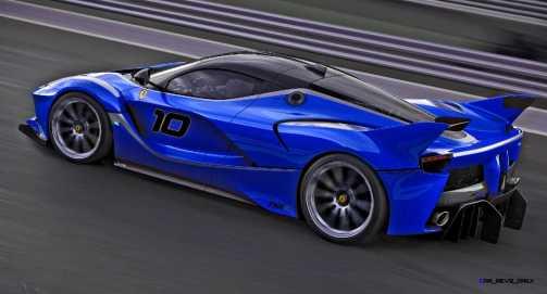 2015 Ferrari FXX K - Rendered COLORS Visualizer 65
