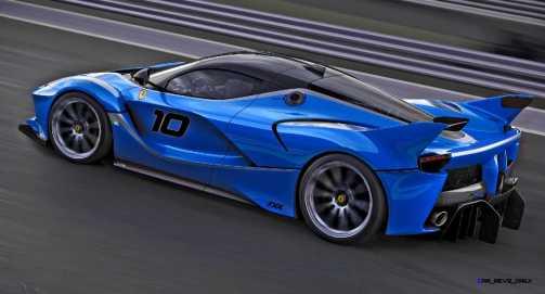 2015 Ferrari FXX K - Rendered COLORS Visualizer 66