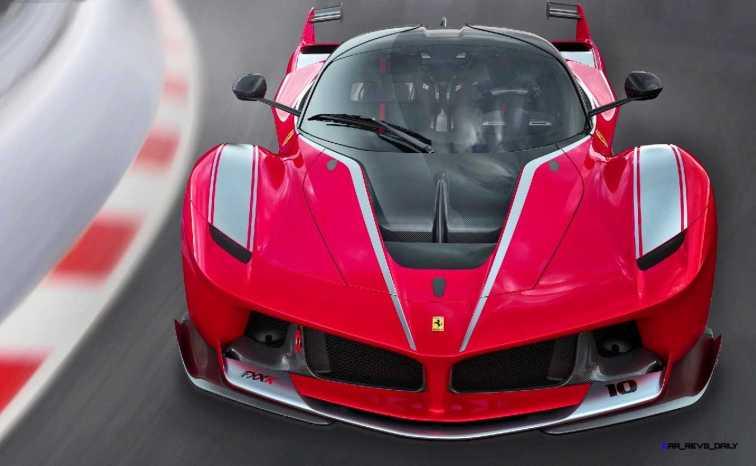 2015 Ferrari FXX K - Rendered COLORS Visualizer 9