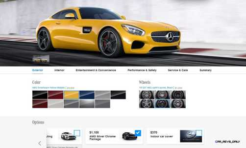 2015 Mercedes-AMG GT S - Exterior Styling Packages 5