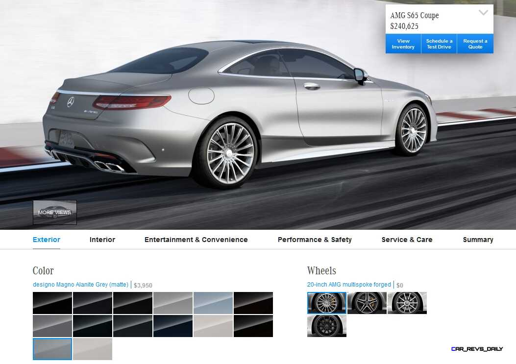 2015 Mercedes-Benz S65 AMG Coupe WHEELS 1