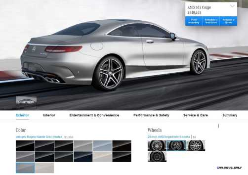 2015 Mercedes-Benz S65 AMG Coupe WHEELS 2