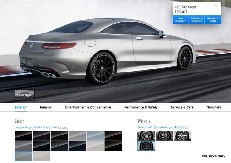 2015 Mercedes-Benz S65 AMG Coupe WHEELS 4