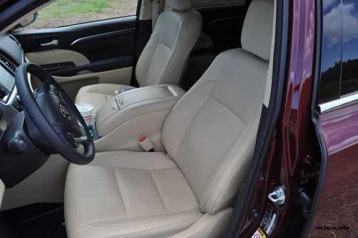 2015 Toyota Highlander AWD Limited - Interior Photos 2