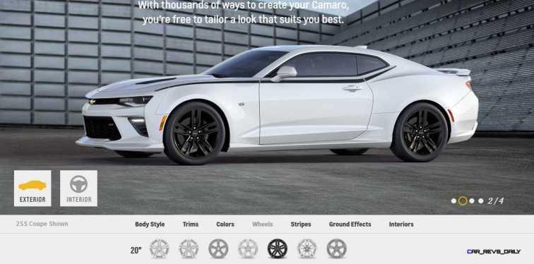 2016 Camaro SS Wheel Options 1