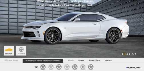 2016 Camaro SS Wheel Options 7