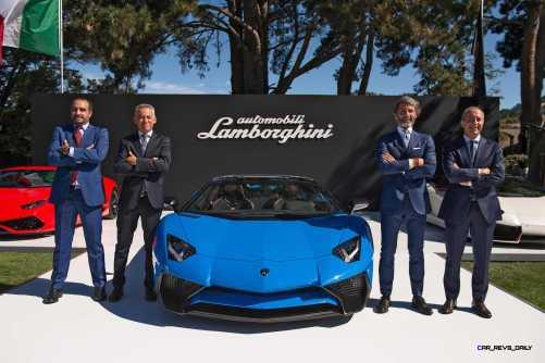 2016 Lamborghini Aventador LP 750-4 Superveloce Roadster 4