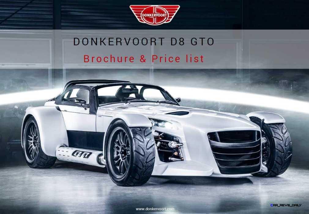 D8 GTO Brochure 1