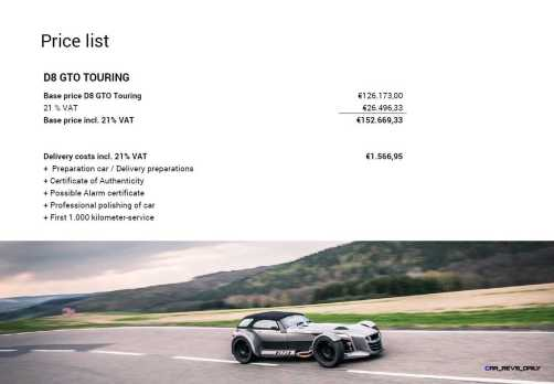 D8 GTO Brochure 13