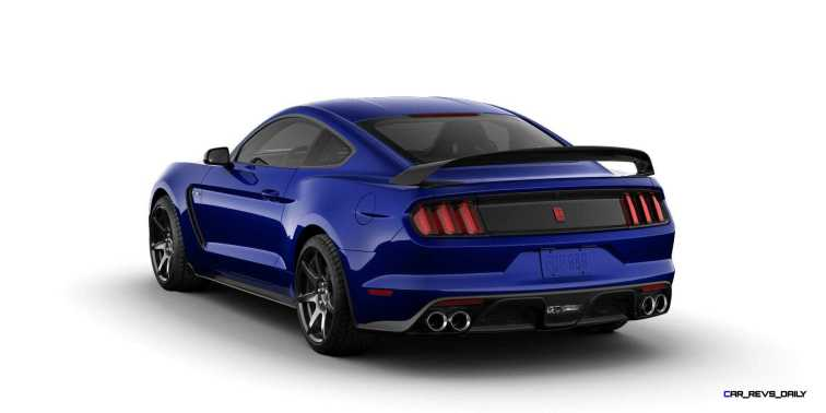 SHELBY GT350R Colors 10