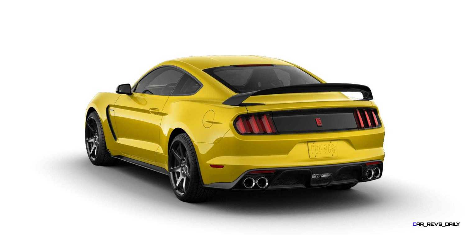 SHELBY GT350R Colors 22