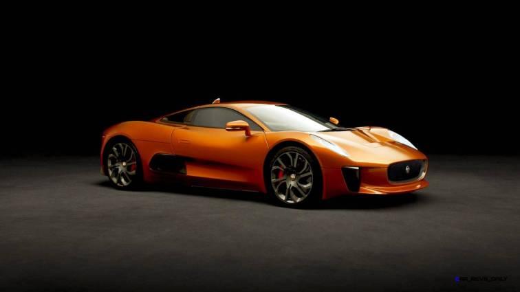 007 SPECTRE Bond Cars - JAGUAR CX-75 Orange 4