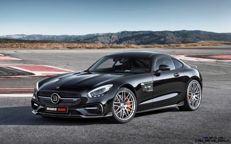 2015 BRABUS Mercedes-AMG GT-S 1