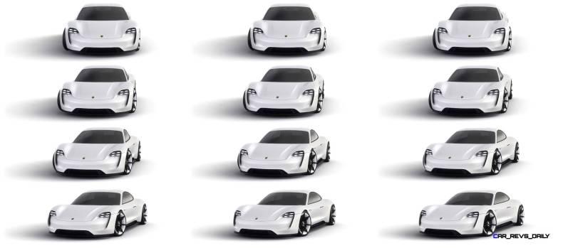 2015 Porsche Mission E Studio Stills 12-tile