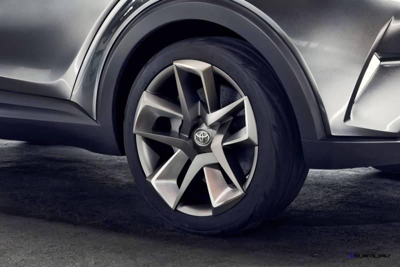 2015 Toyota C-HR Concept 4-Door 14