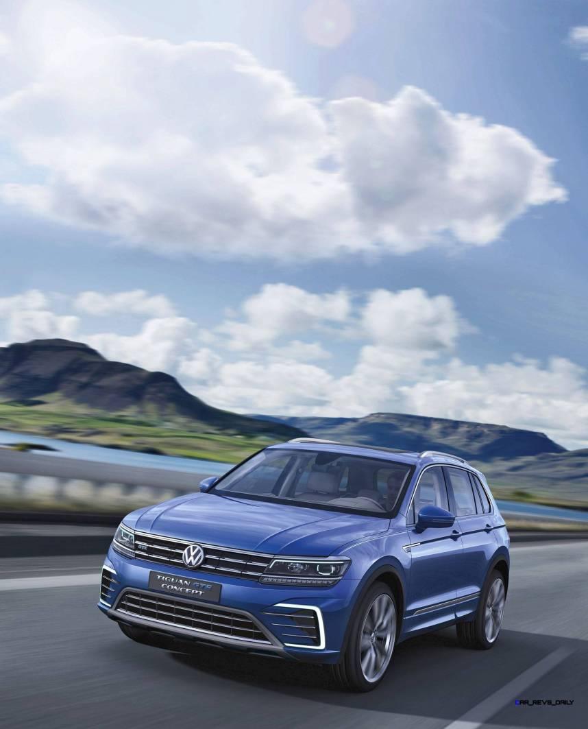 2015 Volkswagen TIGUAN GTE Concept 1