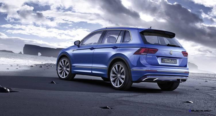 2015 Volkswagen TIGUAN GTE Concept 20