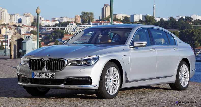 2016 BMW 750Li Exterior Photos 1