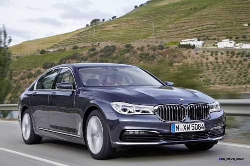 2016 BMW 750Li Exterior Photos 16