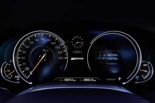 2016 BMW 750Li Interior 11