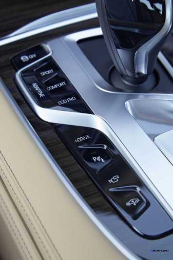 2016 BMW 750Li Interior 2