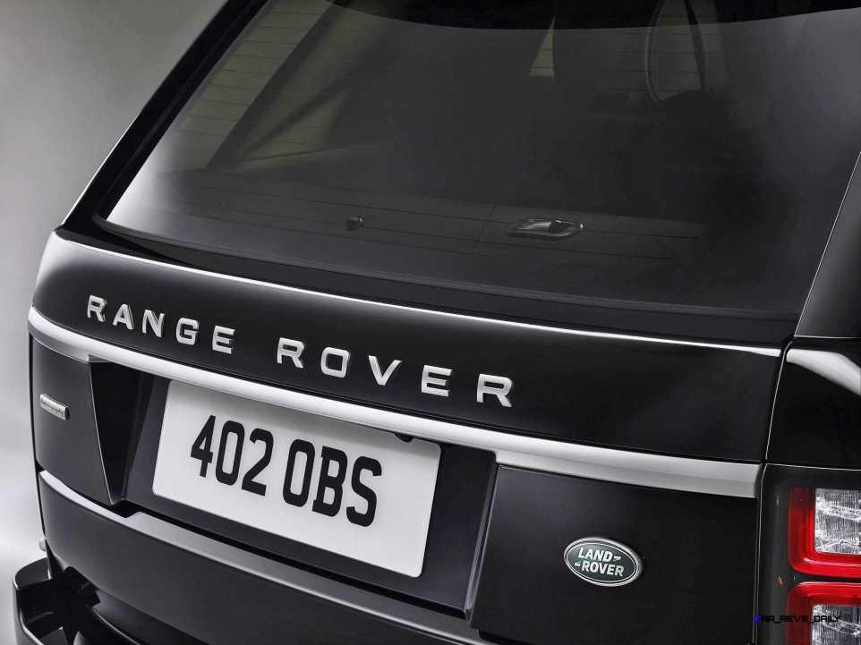 2016 Range Rover SENTINEL 2