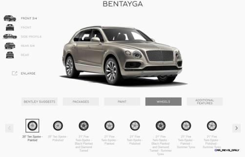 2017 Bentley BENTAYGA Wheels 1