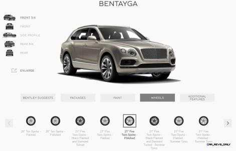 2017 Bentley BENTAYGA Wheels 5