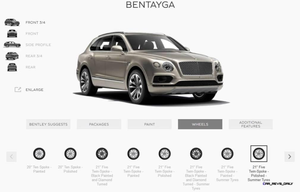 2017 Bentley BENTAYGA Wheels 8