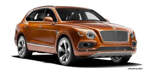 2017 Bentley Bentayga BENTLEY SUGGESTS COLORS 10