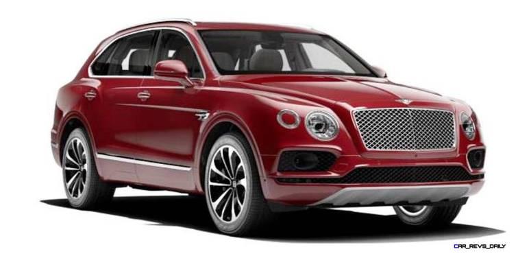 2017 Bentley Bentayga BENTLEY SUGGESTS COLORS 7