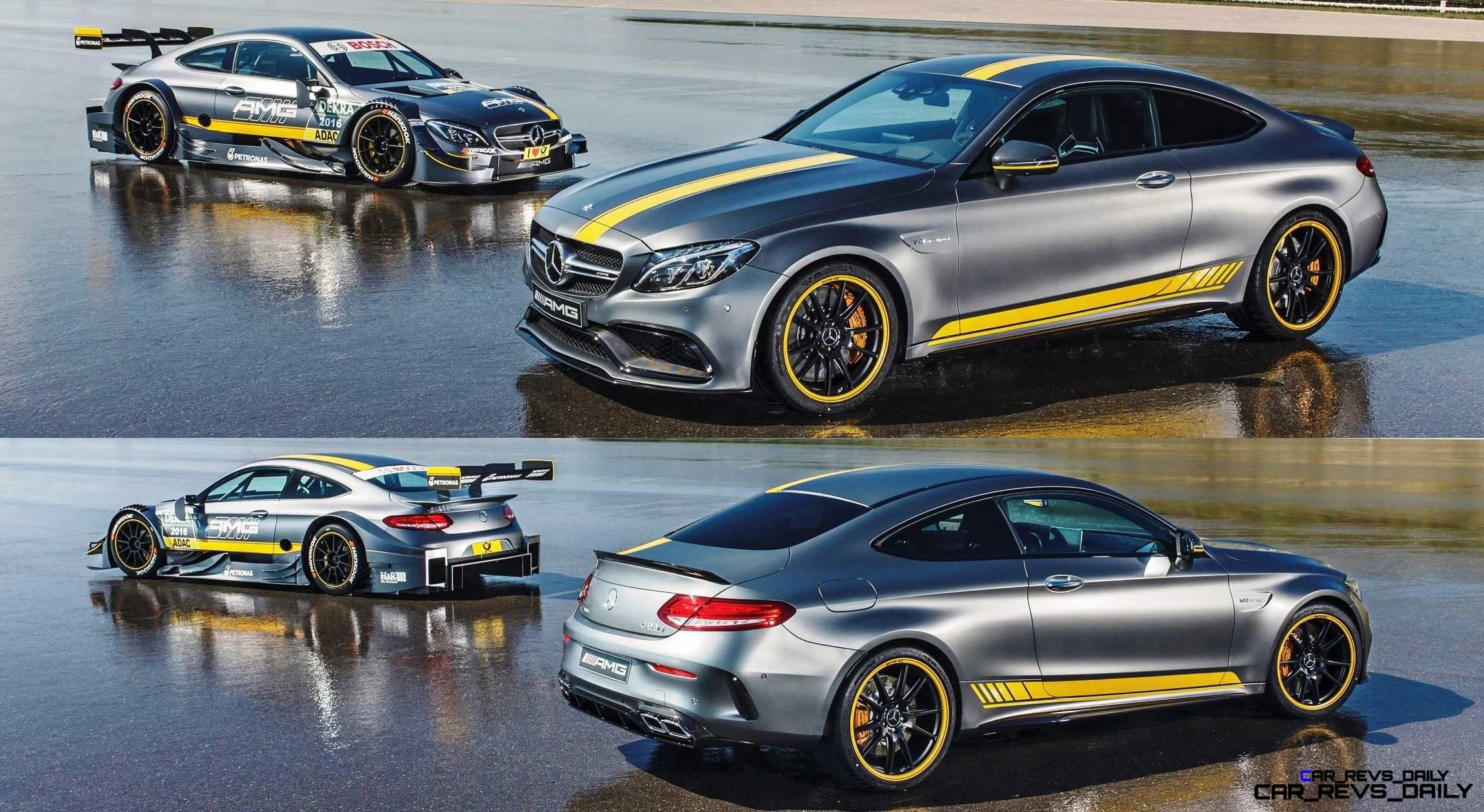 2017 Mercedes-AMG C63 Coupé Edition 1 + 2016 DTM Racecar 1