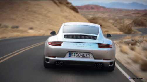 2017 Porsche 911 Carrera S Video Stills 36