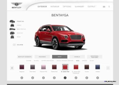 Bentayga Color Samples 1