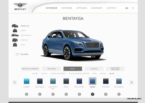 Bentayga Color Samples 14