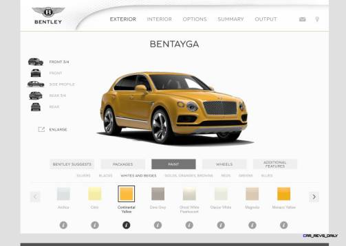 Bentayga Color Samples 26
