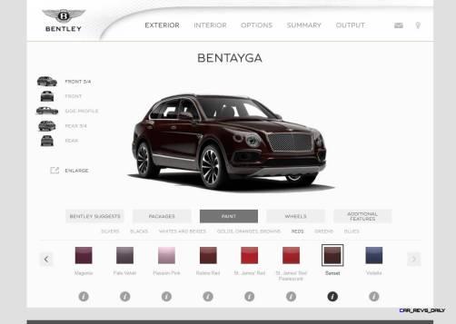 Bentayga Color Samples 3