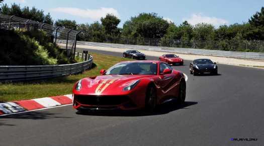 Ferrari Car Cavalcade 2015 Nurburgring 7
