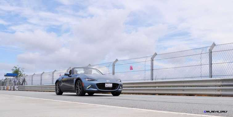 HD First Track Drive Review - 2016 Mazda MX-5 106