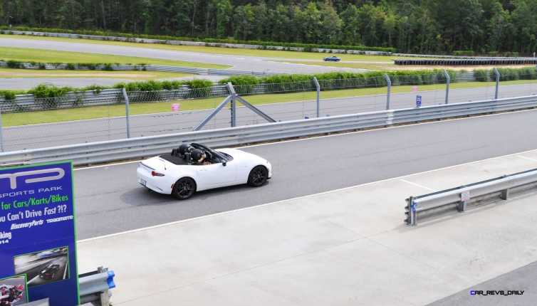 HD First Track Drive Review - 2016 Mazda MX-5 114