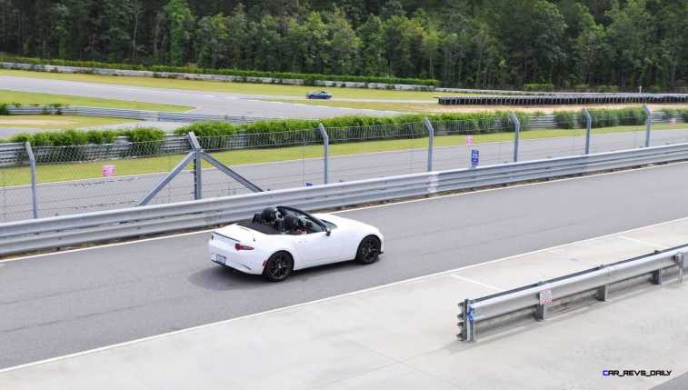HD First Track Drive Review - 2016 Mazda MX-5 115