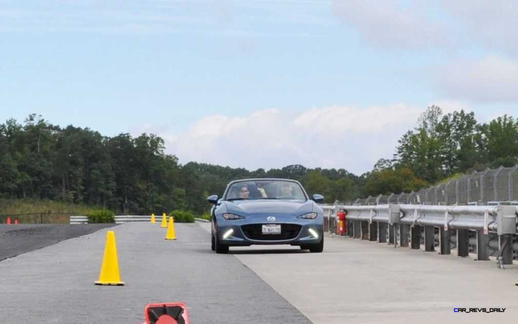 HD First Track Drive Review - 2016 Mazda MX-5 48