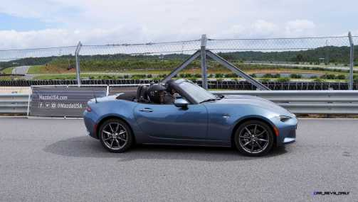 HD First Track Drive Review - 2016 Mazda MX-5 75
