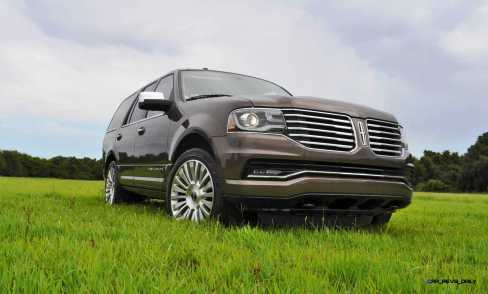 HD Road Test Review - 2015 Lincoln NAVIGATOR 4x4 Reserve 48