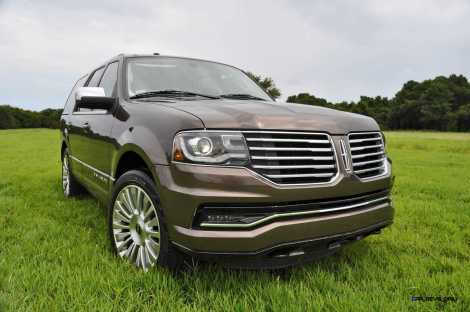 HD Road Test Review - 2015 Lincoln NAVIGATOR 4x4 Reserve 57