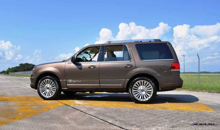 HD Road Test Review - 2015 Lincoln NAVIGATOR 4x4 Reserve 91
