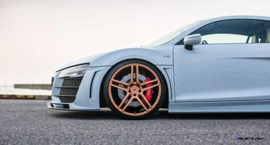 Hamana Audi R8 V10 - Vossen Forged VPS-302 Wheels -_20173034419_o