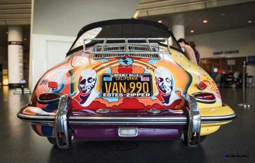 Janis Joplin 1964 Porsche 356C 12
