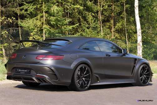 MANSORY Black Edition S63 Coupe 1