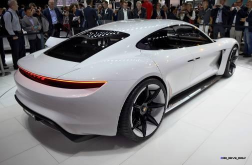 Porsche Mission E Frankfurt IAA 11